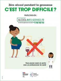 Zéro alcool pendant la grossesse, c'est trop difficile
